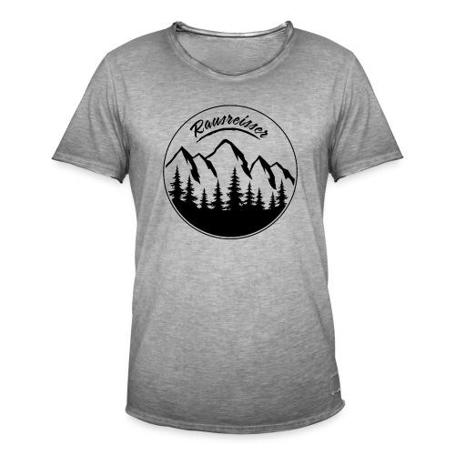 Rausreisser Tasse - Männer Vintage T-Shirt