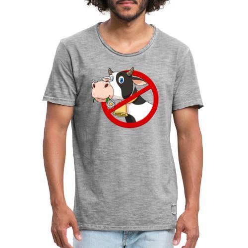 cow kuh - Männer Vintage T-Shirt