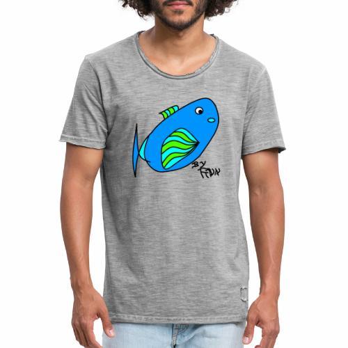 Finns Kugelfisch - Männer Vintage T-Shirt