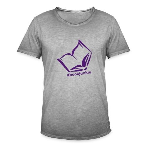 #bookjunkie 2019 - Männer Vintage T-Shirt