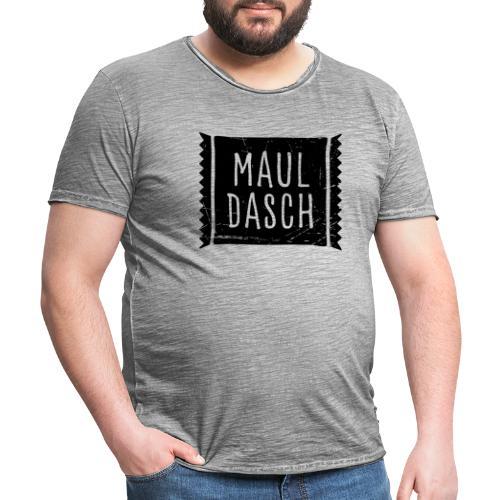 Mauldasch - Männer Vintage T-Shirt