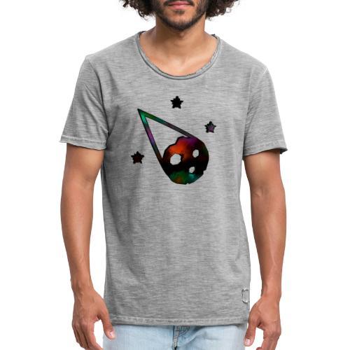 logo interestelar - Camiseta vintage hombre