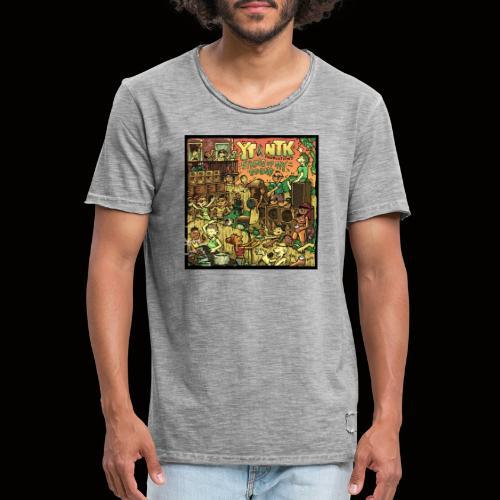 String Up My Sound Artwork - Men's Vintage T-Shirt