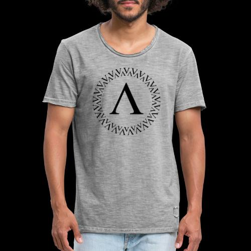 Kreis Logo - Männer Vintage T-Shirt