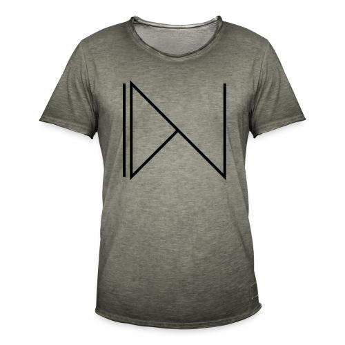 Icon on sleeve - Mannen Vintage T-shirt