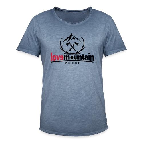 Mountain - Maglietta vintage da uomo