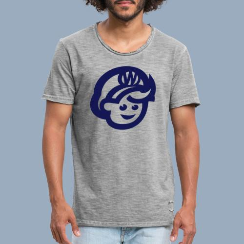 logo bb spreadshirt bb kopfonly - Men's Vintage T-Shirt