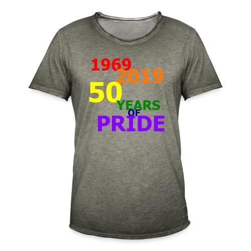 50 Jahre CSD - Männer Vintage T-Shirt