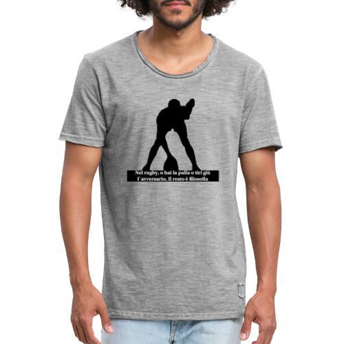 Rugby - Maglietta vintage da uomo