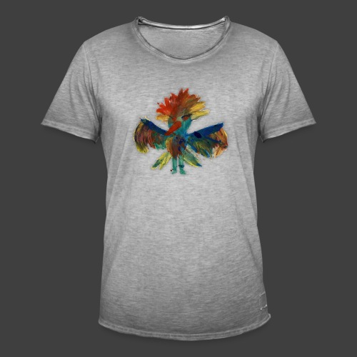 Mayas bird - Men's Vintage T-Shirt