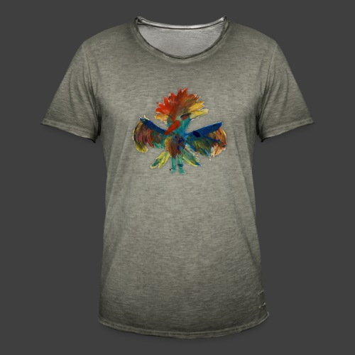 Mayas bird - Men's Vintage T-Shirt