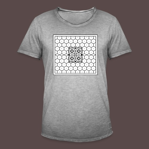 Baia - Mosaico romano - Maglietta vintage da uomo