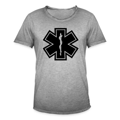 paramedic2 eps - Männer Vintage T-Shirt