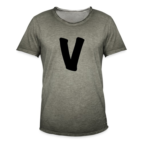 VinOnline shirt - Mannen Vintage T-shirt