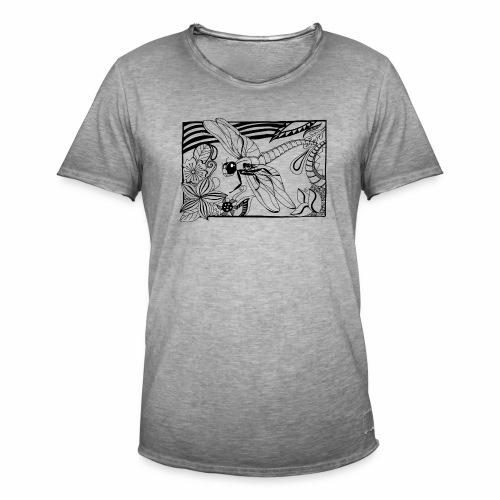 Dragonfly - Koszulka męska vintage