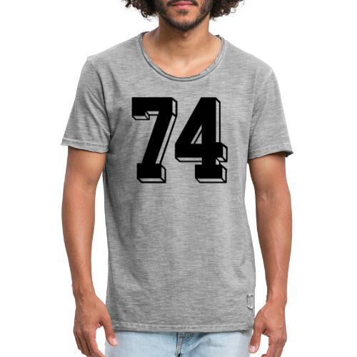 Football 74 - Men's Vintage T-Shirt