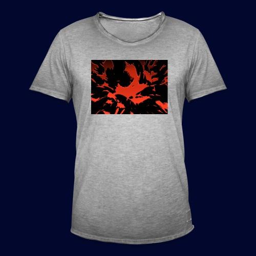crazy red - Männer Vintage T-Shirt