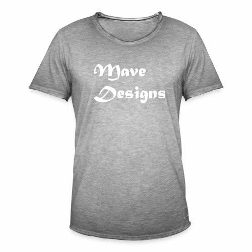 Mave Designs Org - Mannen Vintage T-shirt