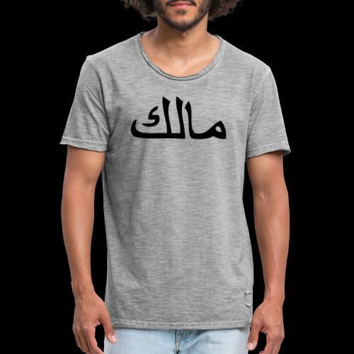 Malik - Männer Vintage T-Shirt