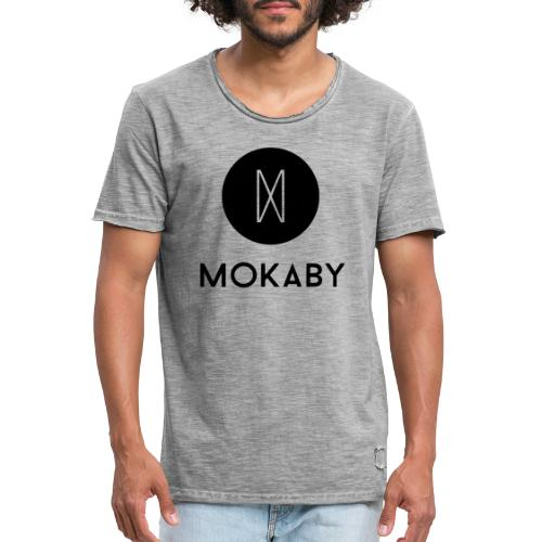 MokabyLOGO 34 - Männer Vintage T-Shirt