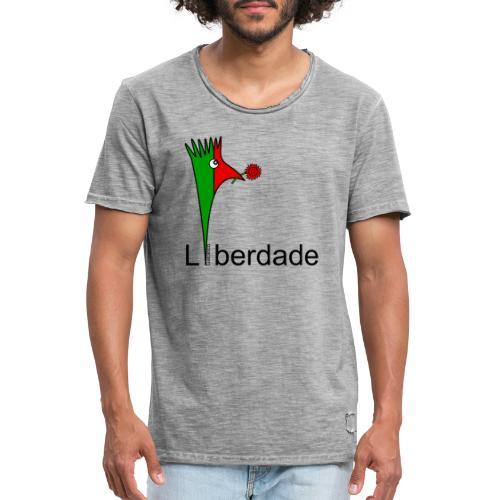 Galoloco - Liberdaded - 25 Abril - Männer Vintage T-Shirt