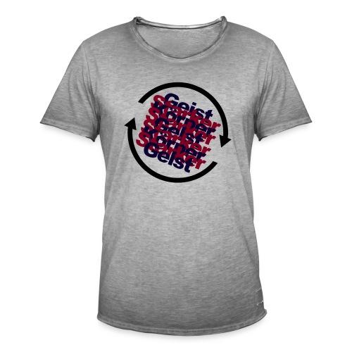 körpergeist. - Männer Vintage T-Shirt
