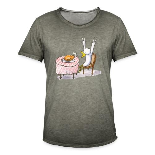 Le repas inattendu - T-shirt vintage Homme