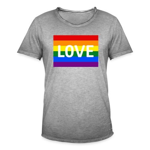 LOVE SHIRT - Herre vintage T-shirt