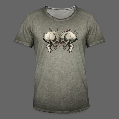 MHF_Logo_Loose-Skulls - Men's Vintage T-Shirt