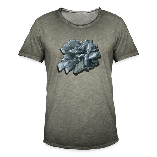 Gipsrose - Männer Vintage T-Shirt