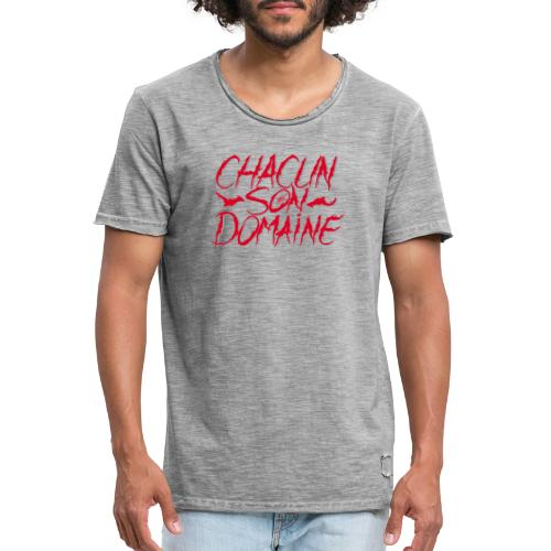 chacun - T-shirt vintage Homme