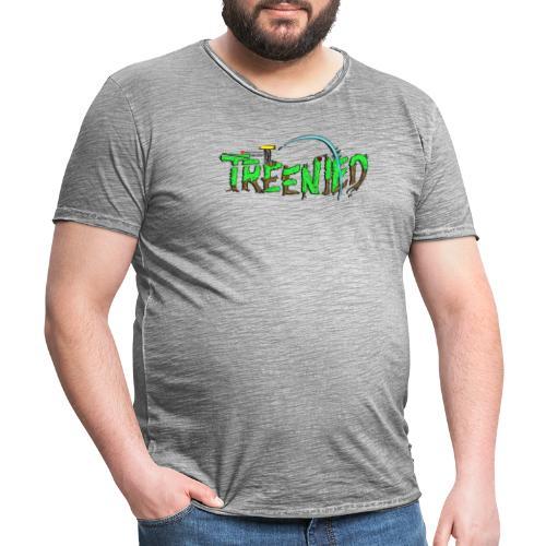 Treenied - Vintage-T-shirt herr