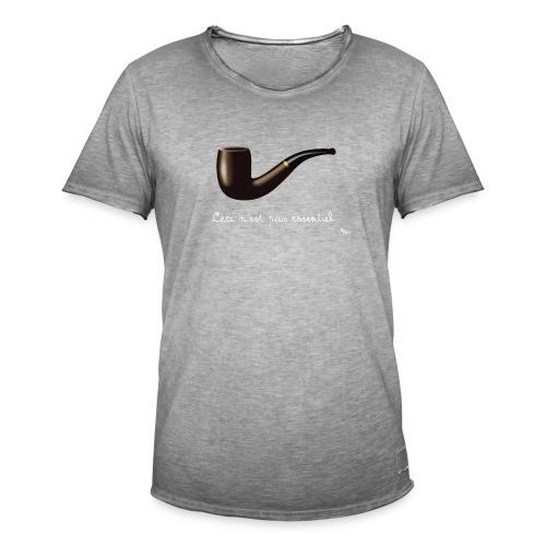 La Culture est essentielle (by EFEL) - T-shirt vintage Homme