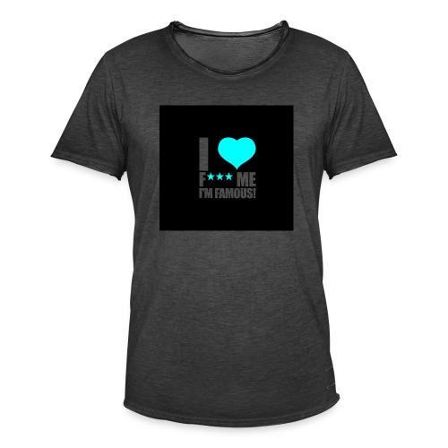 I Love FMIF Badge - T-shirt vintage Homme