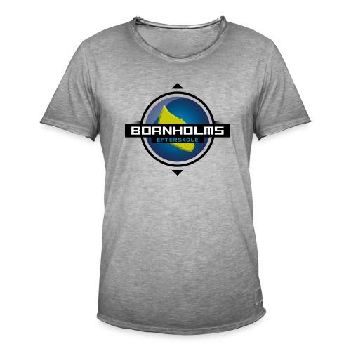 BORNHOLMS_EFTERSKOLE - Herre vintage T-shirt