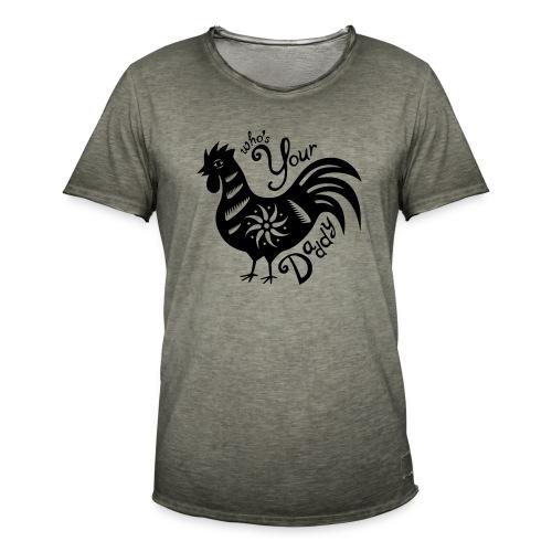 Cock Daddy - Mannen Vintage T-shirt