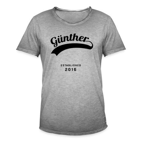 Günther Original - Männer Vintage T-Shirt