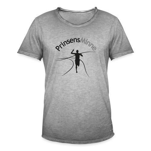PrinsensMinne logga - Vintage-T-shirt herr