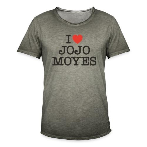 I LOVE JOJO MOYES - Herre vintage T-shirt