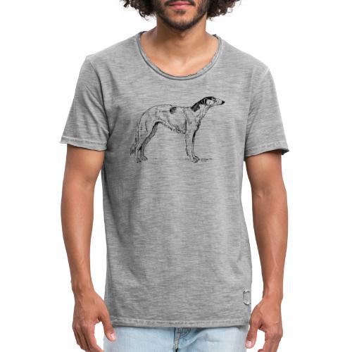 Windhund - Männer Vintage T-Shirt