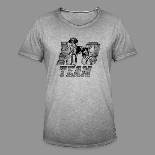 K-9 Team - German Shorthaired Pointer - Men's Vintage T-Shirt
