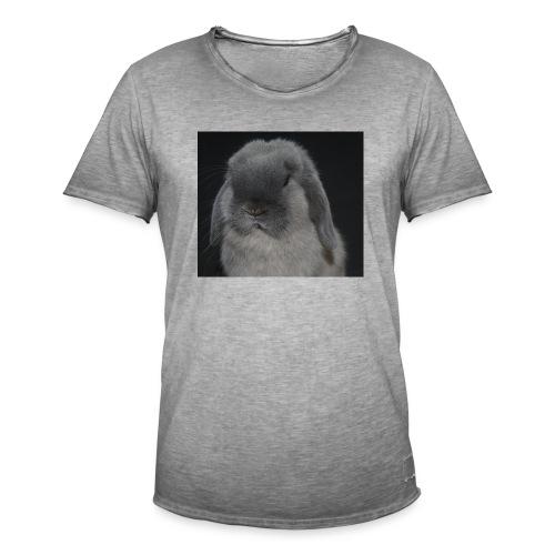 Conejo minilop mujer - Camiseta vintage hombre