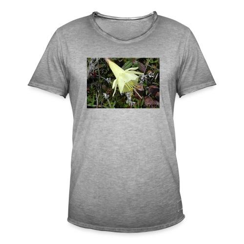 Naturaleza - Camiseta vintage hombre