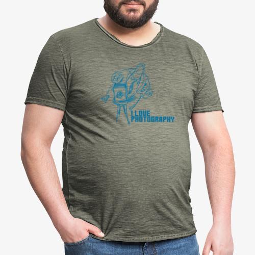 Photography - Camiseta vintage hombre