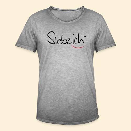 siebzich - Männer Vintage T-Shirt