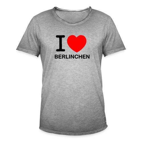 I love Berlinchen - Männer Vintage T-Shirt