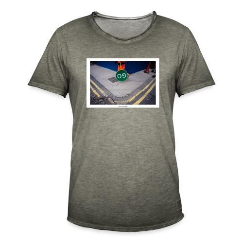 Go. - Camiseta vintage hombre