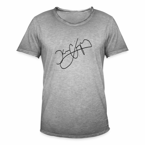Signed Merch - Men's Vintage T-Shirt