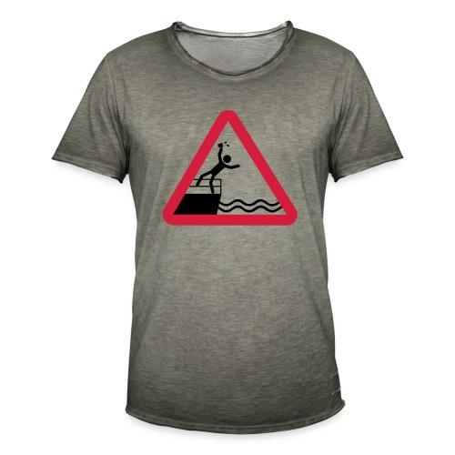 Bitte kein Bier Verschütten! - Männer Vintage T-Shirt
