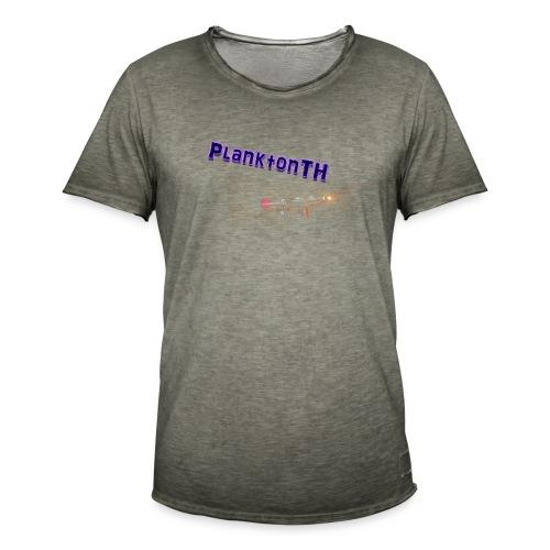 PlanktonTH, Lens Flare - Miesten vintage t-paita